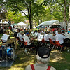 Twin Tiers Community Band plays for Angelica Heritage Days.  Nikon D5000 (August 2010).