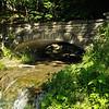 A sidehill stream tumbles to the river near the Upper Falls.  Nikon D5000 (June 2010).