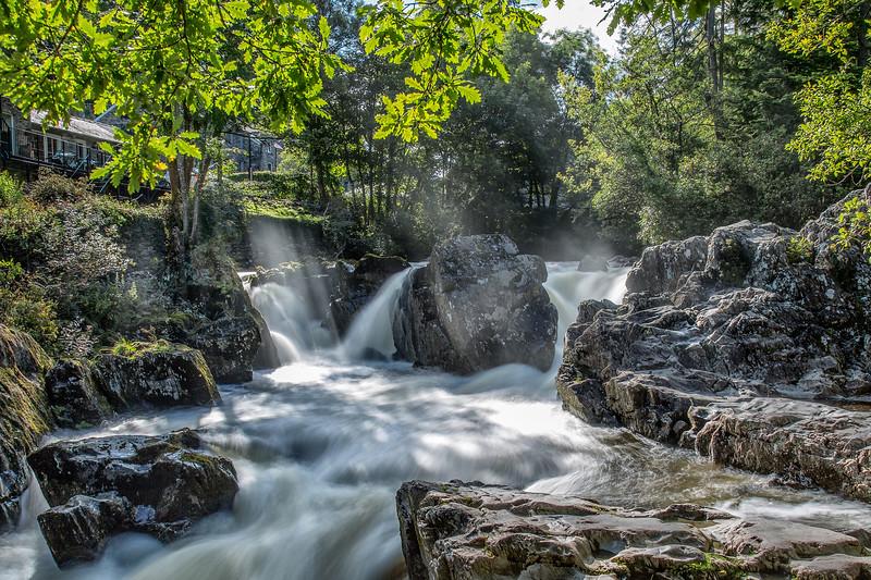 Betws y Coed Waterfall