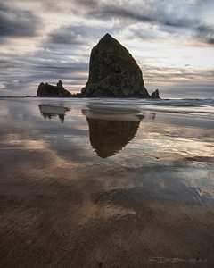 Cannon Beach, Oregon Haystack Rock