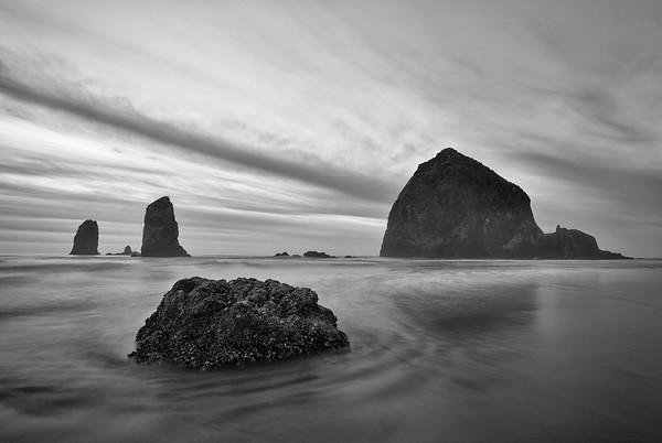 Cannon Beach, Oregon Haystack Rock