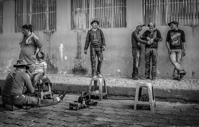 Guatemala Shoe Stand