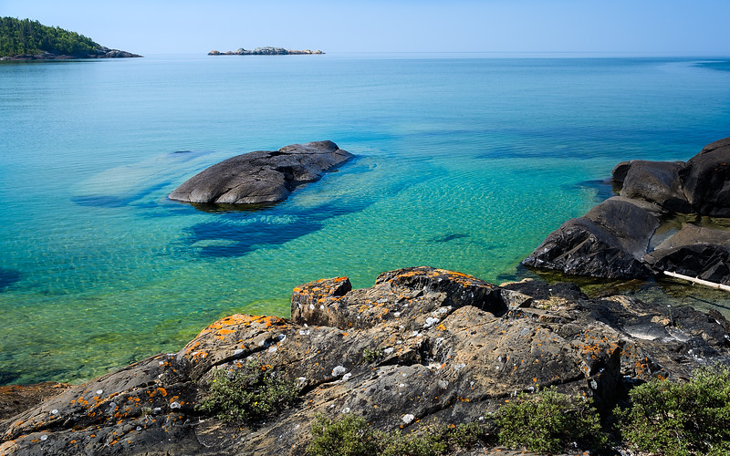 Whale Rock, Pukaskwa NP