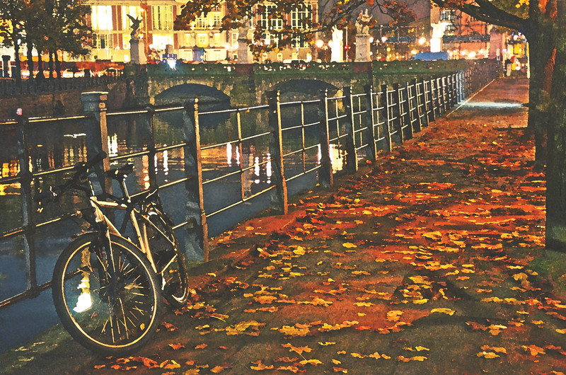 Autumn Night in Berlin