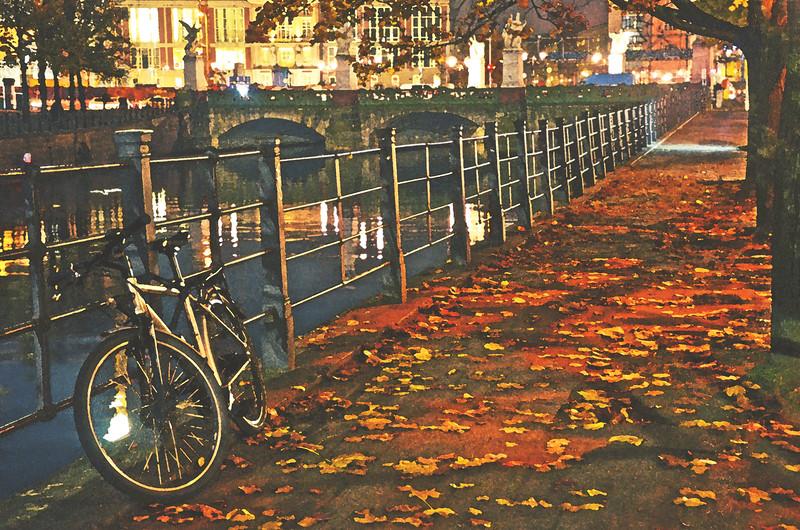 Autumn Night in Berlin