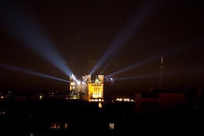 Fête des lumière 2010 - Fourvière