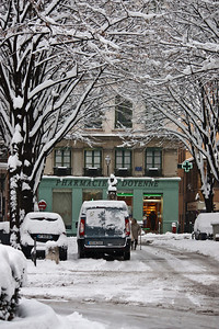 Lyon sous la neige - Vieux Lyon