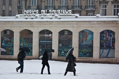 Lyon sous la neige - Office du tourisme