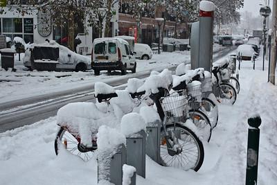 Lyon sous la neige - Monplaisir