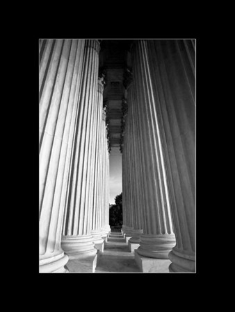 Columns, Supreme Court Building, Washington, DC