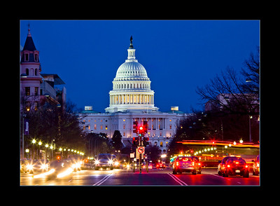 U.S. Capitol from Pennsylvania Avenue