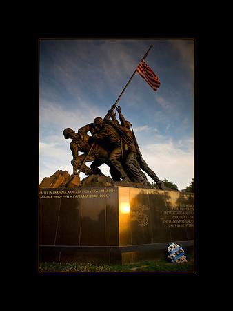 Iwo Jima (U.S. Marine Corps) Memorial