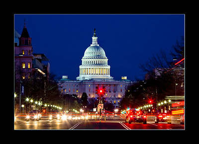 U.S. Capitol from Pennsylvania Avenue