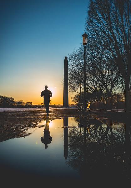 Running Reflections