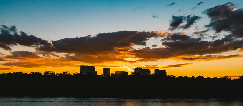 Sunset Over Rosslyn
