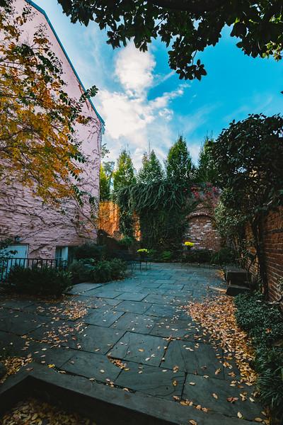 Whimsical Courtyard