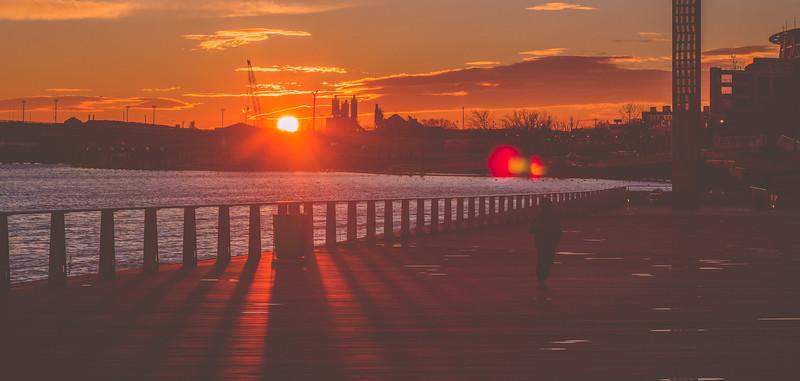 Waterfront Shadows