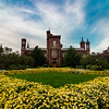 Smithsonian Castle in Bloom