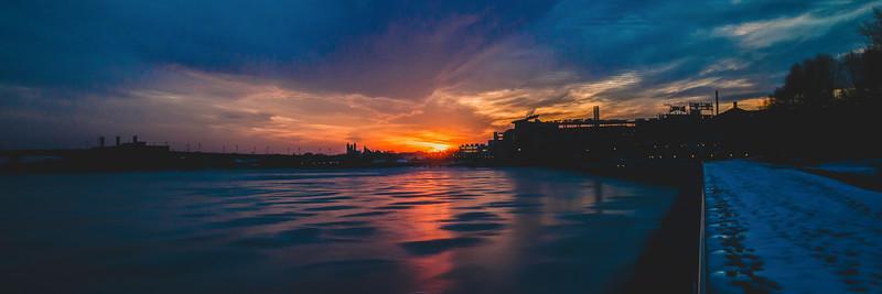 Navy Yard Sunset