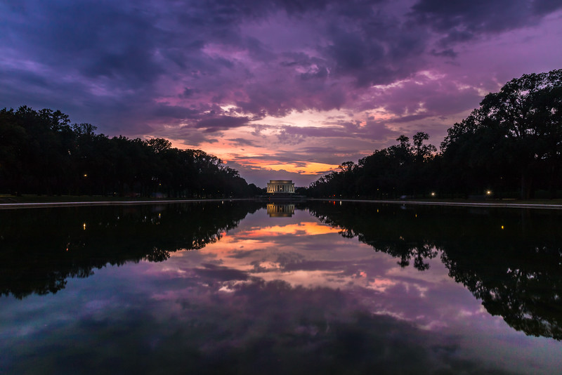 Reflecting Pool Sunset