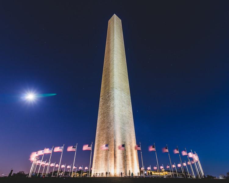 Moonlit Monument
