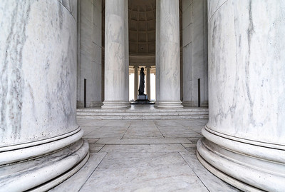 """Pillars of Freedom"" - Jefferson Memorial, Washington, D.C.   Recommended Print sizes*:  4x6  