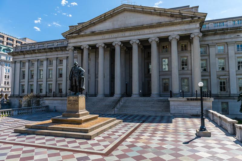 United States Treasury Department Building