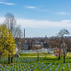 Arlington National Cemetery View of DC