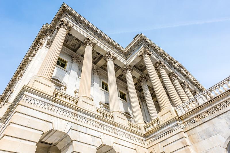 Corinthian Pillars at the US House of Representatives