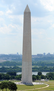 Washington Monument seen from the Post Office clock tower