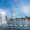 Washington Monument & the World War II Memorial