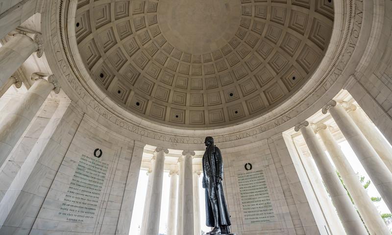 Jefferson in His Memorial