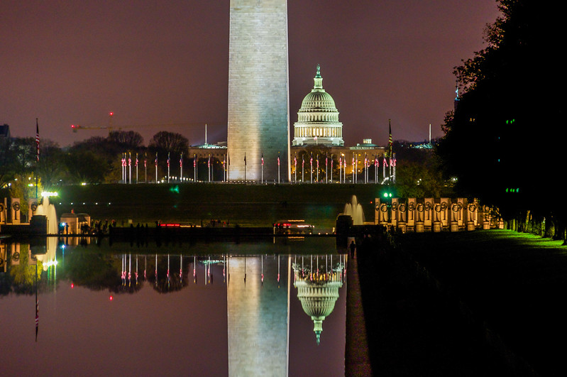 Reflections of the Capitol Mall