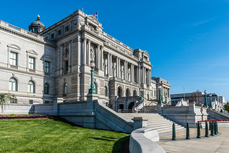 Winding Steps to the Library of Congress