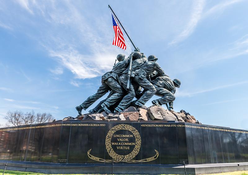 USMC Memorial to Iwo Jima