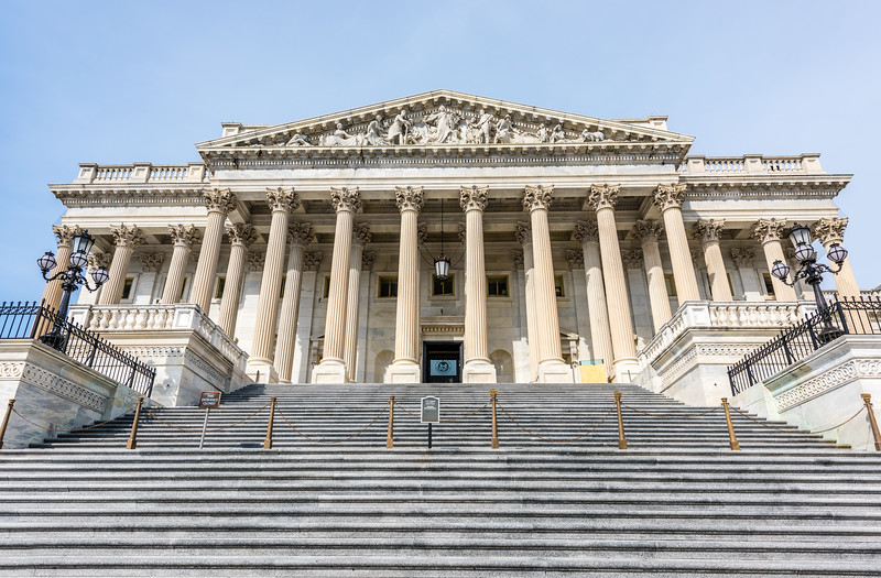 Stairs to the US House of Representatives