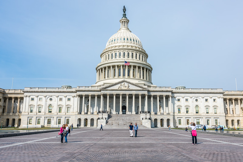 Old Section of the United States Capitol Building