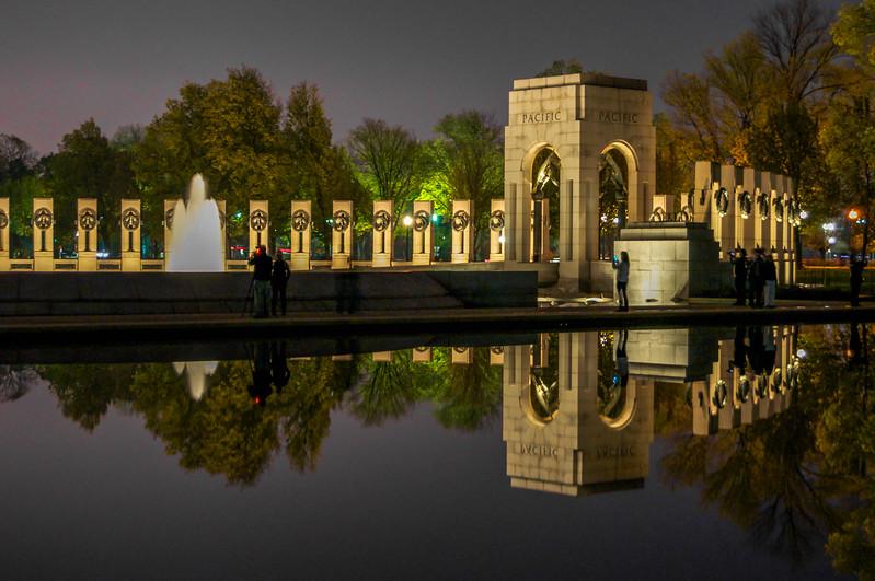 World War II Memorial Reflected