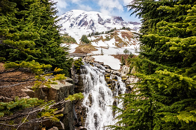 Falls View at Mount Rainier