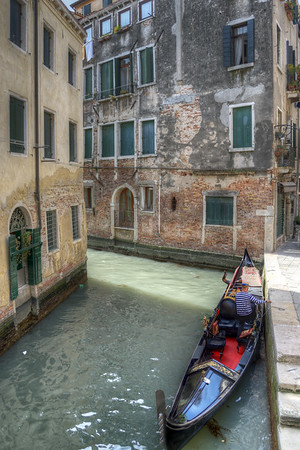 Gondola - Venice, Italy - April 18, 2014
