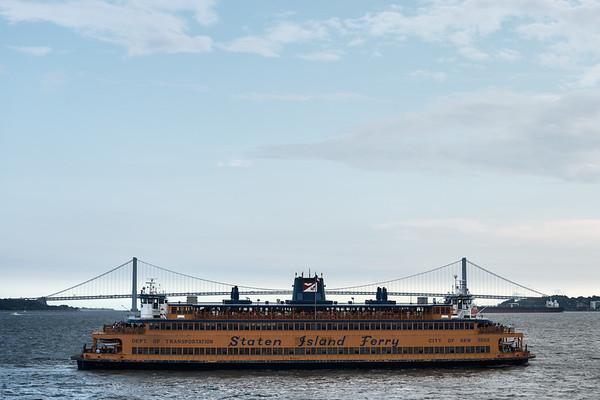 Staten Island Ferry - New York, NY, USA - August 19, 2015