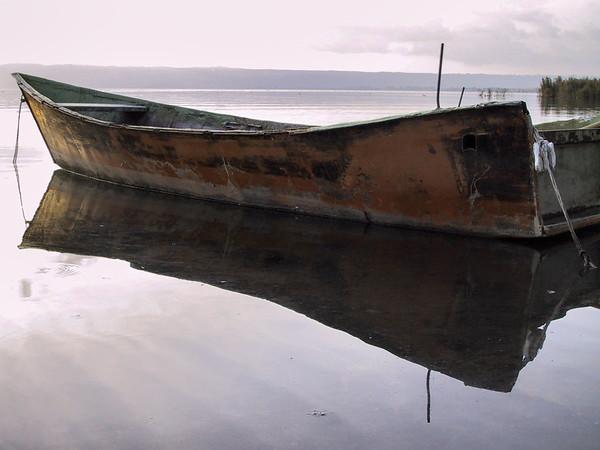 Rusty Boat - Lago di Bolsena, Viterbo, Italy - October 27, 2000