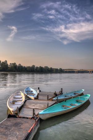 Boats - Lido Po, Guastalla, Reggio Emilia, Italy - September 29, 2011