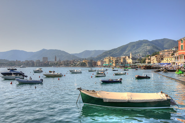 Boats - Rapallo, Genoa, Italy - August 19, 2011