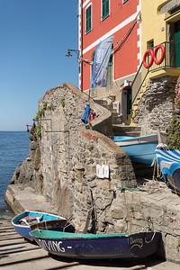 Boats - Riomaggiore, La Spezia, Italy - August 29, 2015