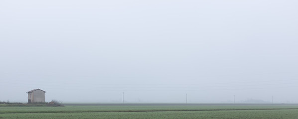 Fog - Via Scagliarossa, Crevalcore, Bologna, Italy - December 13, 2016