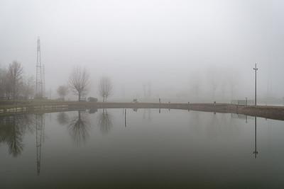 Fog - Crevalcore, Bologna, Italy - January, 13, 2020