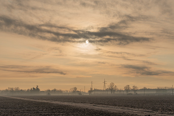 Sunrise - Modena, Italy - January 13, 2020