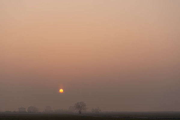 Sunrise - Crevalcore, Bologna, Italy - November 26, 2020