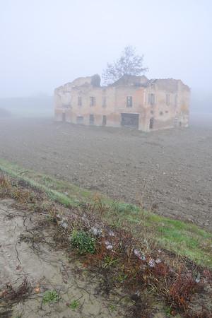 Ruin - Sozzigalli, Soliera, Modena, Italy - November 18, 2011